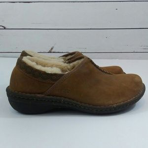 Uggs Bettey clogs with shearling lining